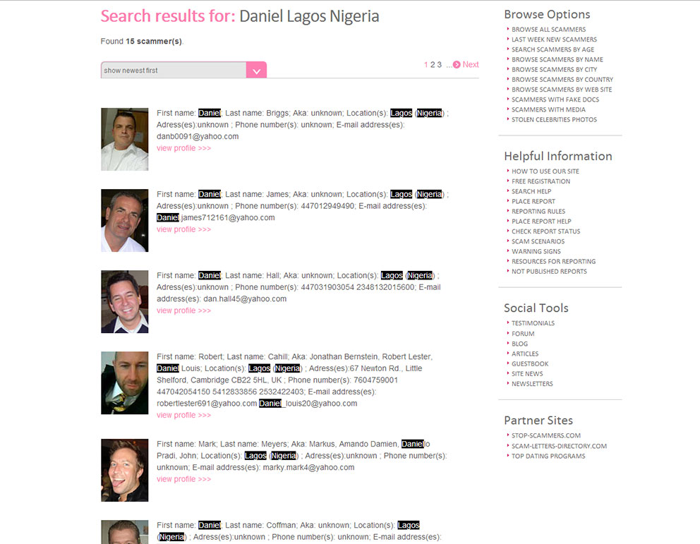 list of free nigerian dating site Naijaplanet is a free nigerian dating website with attractive single men and women living in nigeria and around the world it's an awesome medium for online communication with interesting people who are open to friendship, flirting, true love, and building a relationship towards marriage its high rate of subscribers.