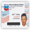 Chevron ID card