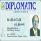 Diplomatic ID card