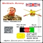 Afghanistan special force ID card