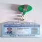 Medical personel ID card