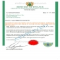 Payment approval certificate